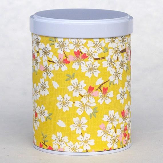 boite washi été jaune