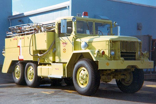 Fire Department Squad Truck