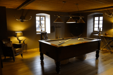 Morzine Property for sale with pool table