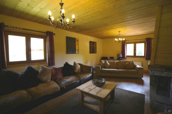 La Baume Chalet for Sale with great views. 6