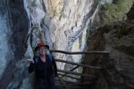 Inca Bridge barrier