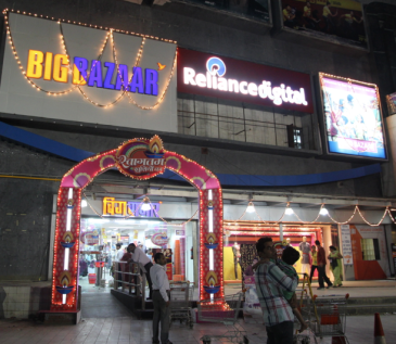shopping mall India