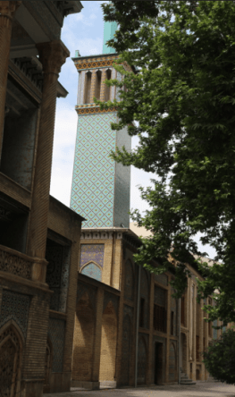 Golestan Palace, Wind catcher