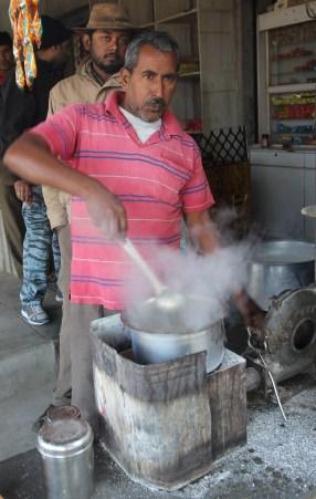 stirring chai