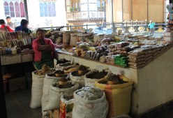 bags of dried goods