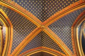Sainte-Chapelle downstairs ceiling