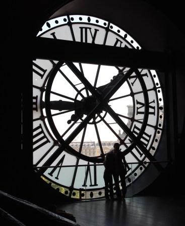 Musée d'Orsay external clock