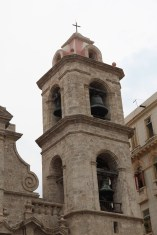 Havana cathedral bell tower