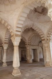 Interior of mosque at Bibi Ka Maqbara