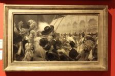 Parade de cavaliers au Grand Palais by René Lelong