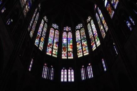 The clerestory windows, Saint-Denis