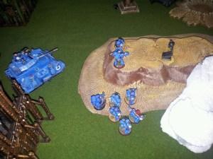 Finalmente o Tactical Squad dos UM alcançou a Relíquia e pouco restava para impedí-los.