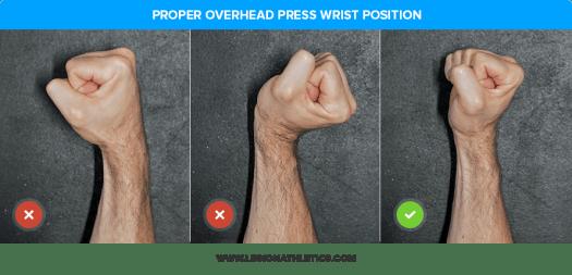 Proper Overhead Press Wrist Position