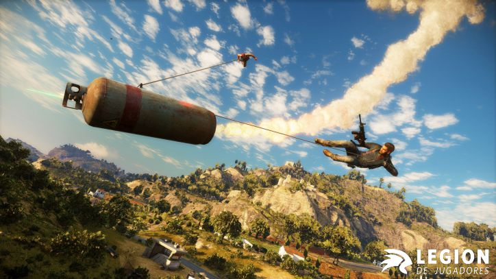 Just Cause 3 Gancho