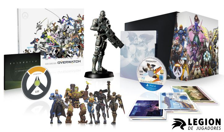 COLLECTORS EDITION OVERWATCH