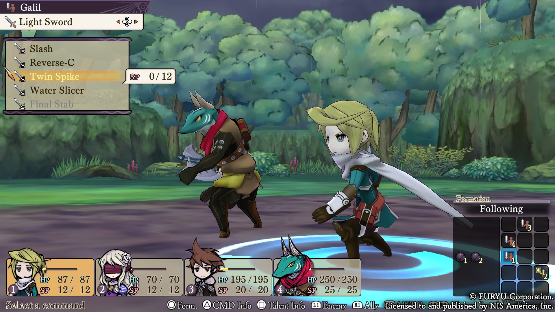 análisis The Alliance Alive HD Remastered