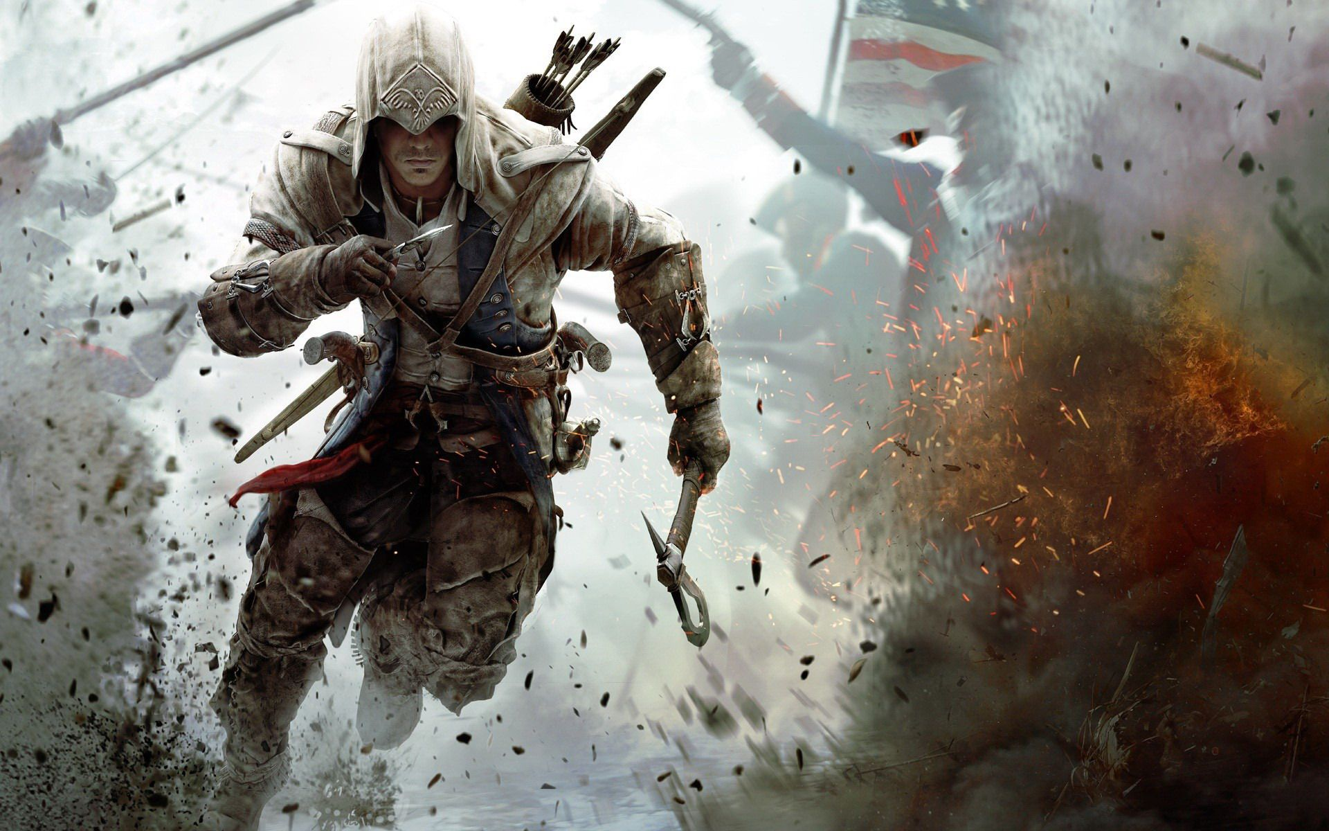 Connor, protagonista de Assassin's Creed III