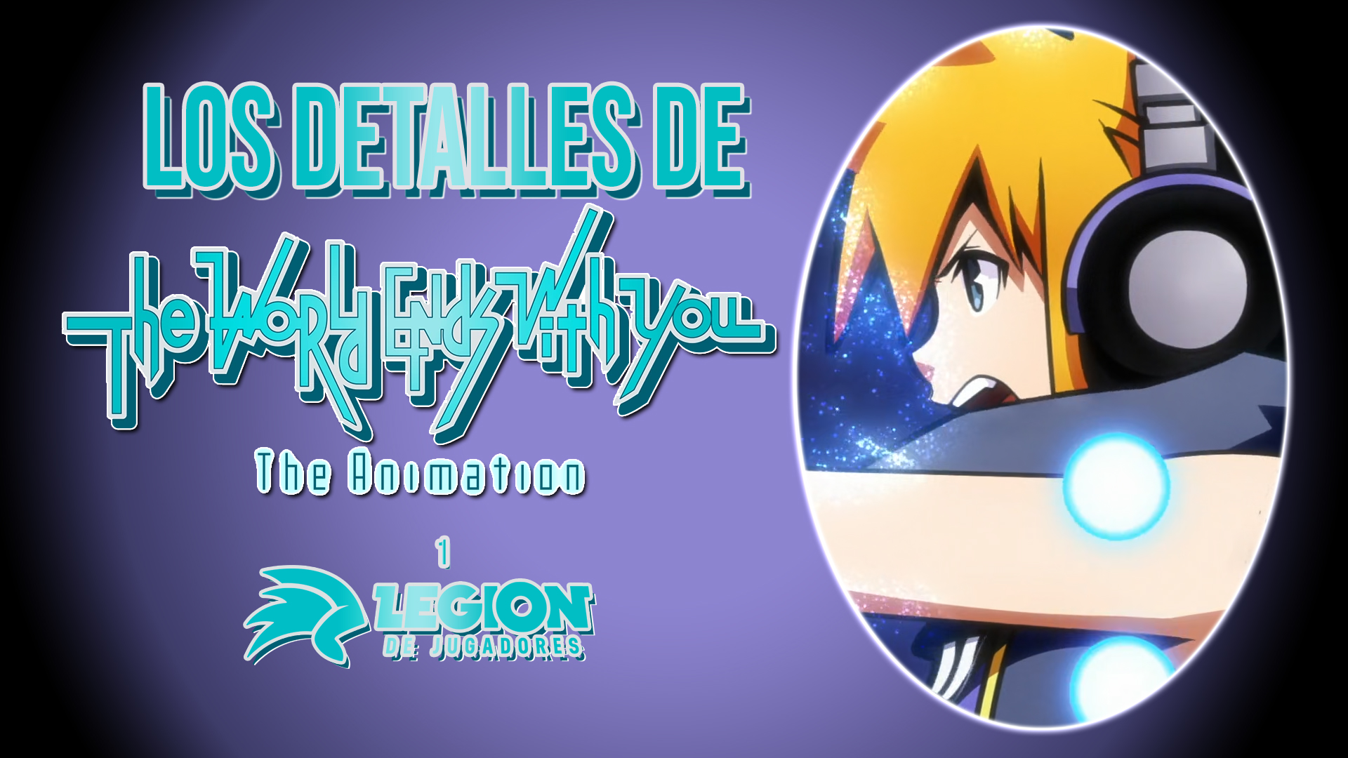 The World Ends With You The Animation 1 destacada