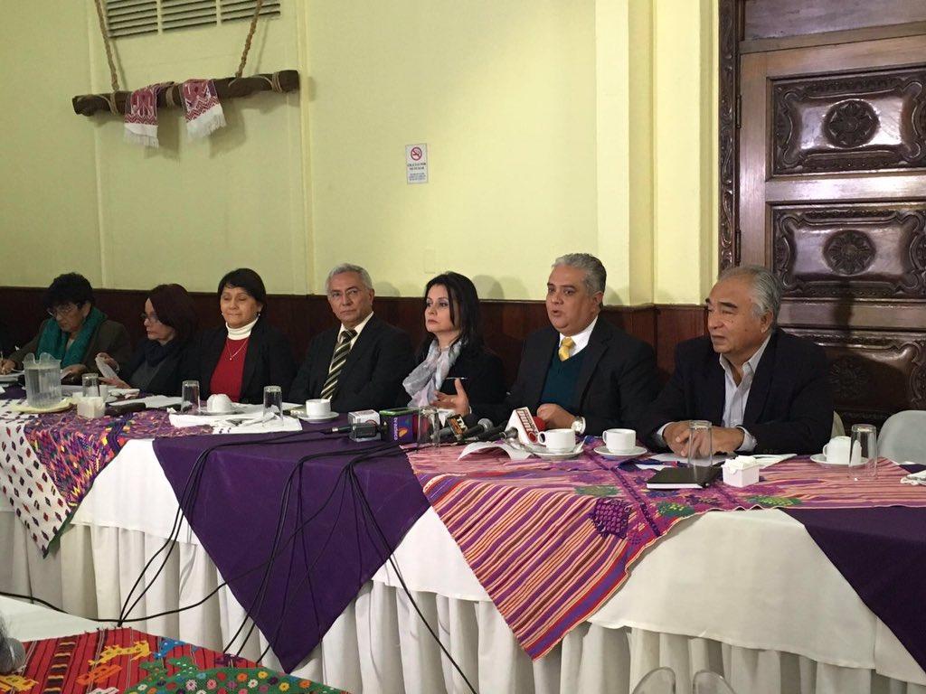 Comunicado de la Sociedad Civil al Presidente Jimmy Morales