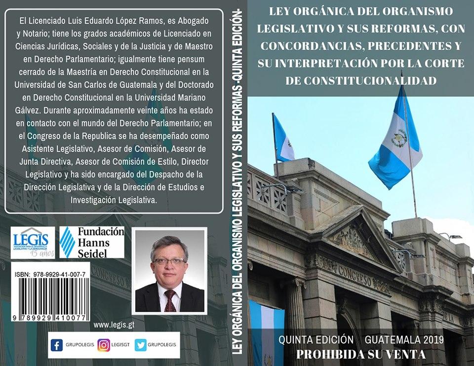 Ley orgánica del Organismo Legislativo