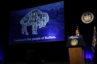 Gov. Cuomo delivers State of the State Address in Buffalo