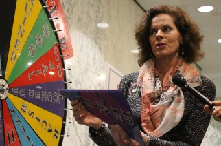 "NYCLU asks legislators to spin ""Wheel of Justice"" to garner support for funding public defense"