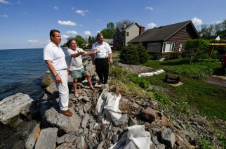 Cuomo promises relief for flooded homeowners along Lake Ontario