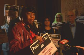 NYCLU, victims' families call for better data on police activity
