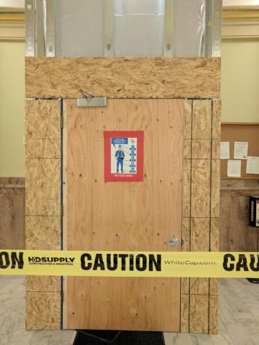 Pardon Our Dust: Interim Renovations at the Capitol