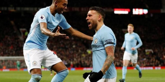 Manchester City Move 11 Points Clear #ManchesterDerby