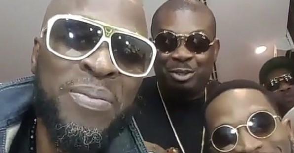 VIDEO: Don Jazzy, D'banj, Wande Coal - Mo'Hits Crew Reunite, Perform At The 30 Billion Concert