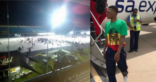 See What Happened, Concert For Wizkid Appearance Was Empty