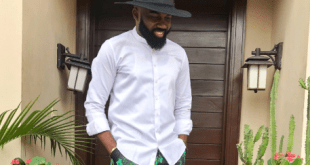 Noble Igwe Rocks Nigeria's Nike Tracksuit In New Style(See Photo)