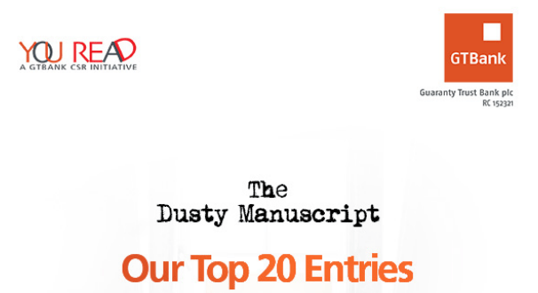 The GTBank Dusty Manuscript Contest - 20 Budding Nigerian Writers Make it to Next Stage