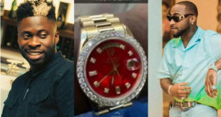 Davido Reacts, Dj Ecool Buys Himself A ₦16 Million Diamond Encrusted Watch