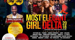 Moxie Entertainment To Unveil 2018 Most Elegant Girl Grand Finale, 12th August