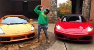 Off 1 Album, Singer Jacquees Buys $3M Mansion,Ferrari & Lambo