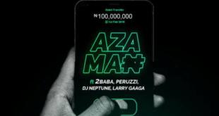 Slimcase – Azaman ft. 2Baba x Peruzzi x DJ Neptune x Larry Gaaga