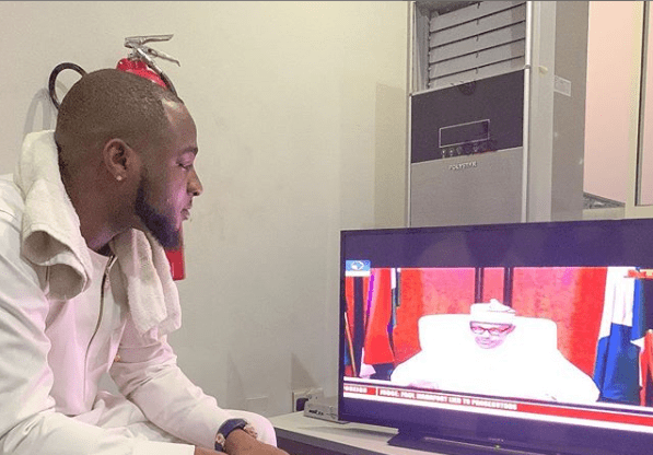 Davido Reacts to the postponed Nigerian 2019 Election