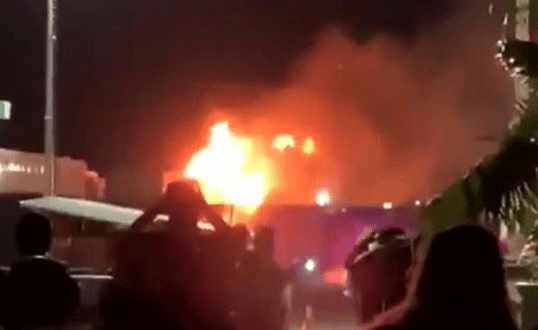 Coachella music festival Fire outbreak In California