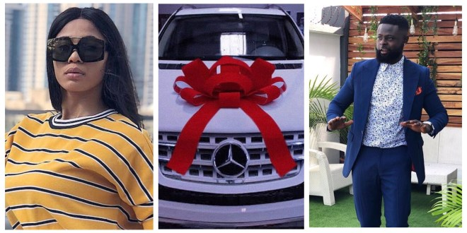 Yomi Casual got his Wife A Brand New Benz To Celebrate her Birthday (Photo)