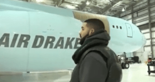 VIDEO: Drake Acquires Customized Luxury Private Jet Worth 17 Billion