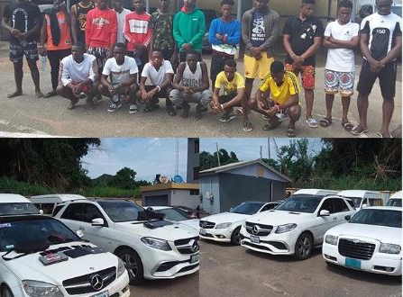 EFCC Exposes Several Yahoo Boys In Delta State