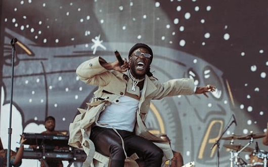Burna Boy Is Named African Artist Of The Year At VGMAs (See Full List)