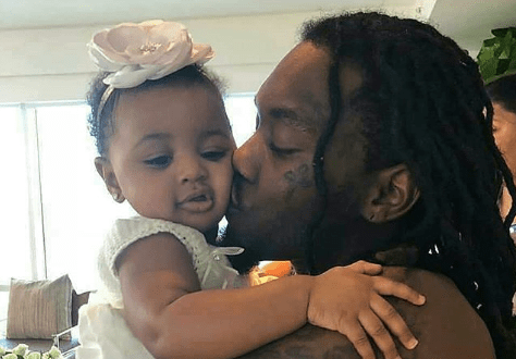 Adorable picture of Offset and Baby Kulture (Photo)