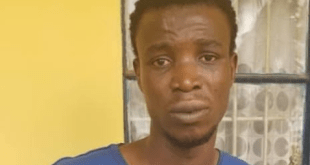 "The Ogun state police command have arrested 24-year-old Afolayin Sunday, whose area of armed robbery specialization was to attack and dispossess female POS attendants of cash sales. . According to a press statement released by the command's spokesperon, Abimbola Oyeyemi, Sunday who is a NCE graduate of Maths/Computer from Adeniran Ogunsanya College of Education, Otto-Ijanikin, Lagos, was arrested following a violent attack on a POS attendant in Ijoko area of Ogun State on June 6th. . He had approached the female attendant, one Adesina Omolola, at a POS point, on the pretence of wanting to transact a business, only to, thereafter, attack her, dispossessing the victim of the cash sales already made. . ''The suspect walked into the POS shop, pretended to be a customer who came to transact business. Realizing that the victim was alone in the shop, he grabbed her on the neck and brought out a UTC knife"". . He ransacked the lady's drawer and made away with the cash sale of #42, 000 before bolting. . The victim raised alarm and the suspect was apprehended."