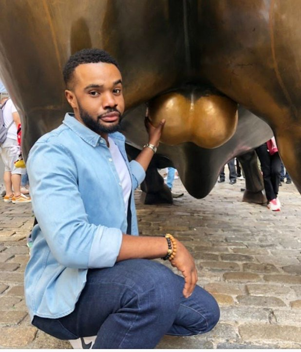 Williams Uchemba Could Be Jailed For Touching A Bulls 'Genitals' (See Photos)