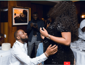Davido and Chioma bags endorsement deal for their unborn son (photos)