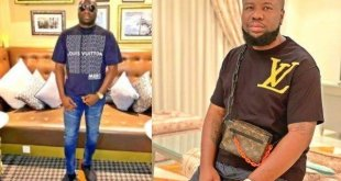 Hushpuppi Makes Jest for Mompha in Funny Caption (SEE PHOTO)