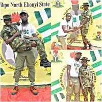 NYSC Member Engage a Female Soldier in Ebonyi State (SEE PHOTO)
